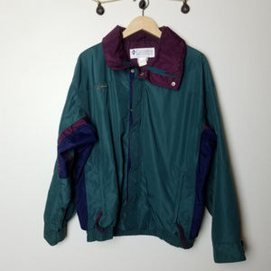 Vintage 1986 Bugaboo Evergreen Windbreaker XL